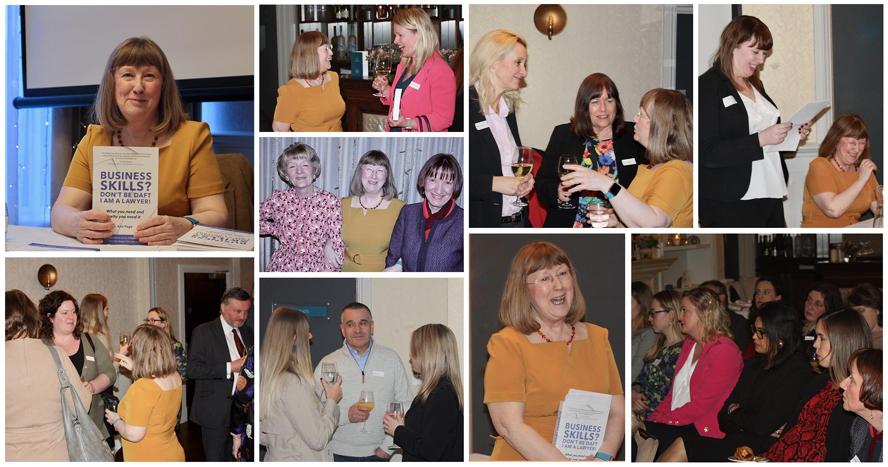 Images from book launch in Harrogate